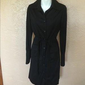 Vintage Amelia Gray Beverly Hills Black Dress S